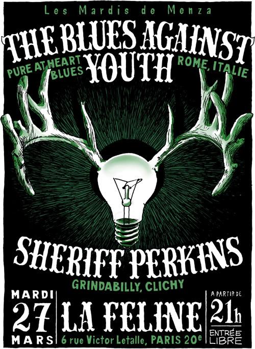 The Blues Against Youth/Sheriff Perkins @ la Féline, 27 mars TBAYSheriffFeline500