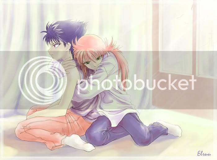 Hiei & Kurama