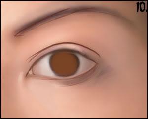 [P&D] Como pintar olhos realistas 10