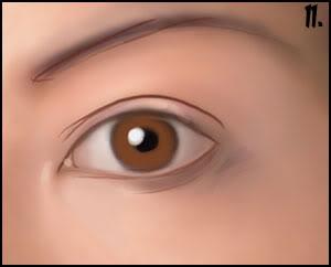 [P&D] Como pintar olhos realistas 11