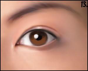 [P&D] Como pintar olhos realistas 13