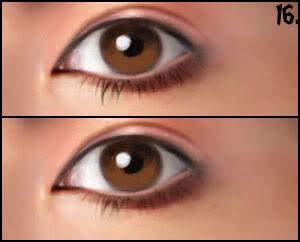 [P&D] Como pintar olhos realistas 16
