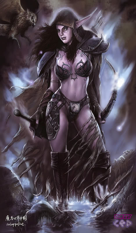 Shadow Plague WarriorElf
