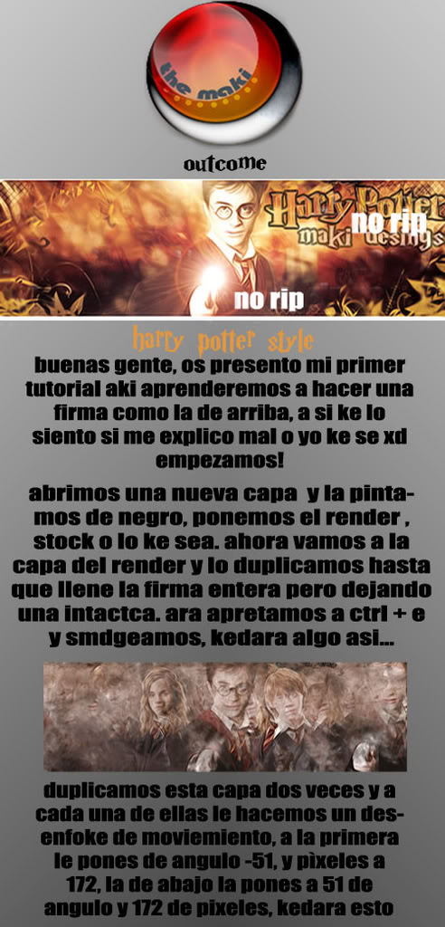 Tutorial Harry Potter Intentodetutoxdparte1