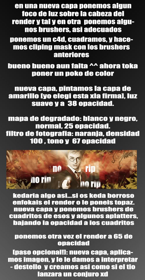 Tutorial Harry Potter Intentodetutoxdparte3