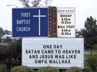 Funny Images (AND IT'S REALLY LOL) - Page 2 Churchsign