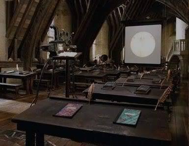 Sala de aula - História da magia Hogwartsrum