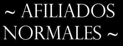 Afiliados Normales Afiliadosnormales