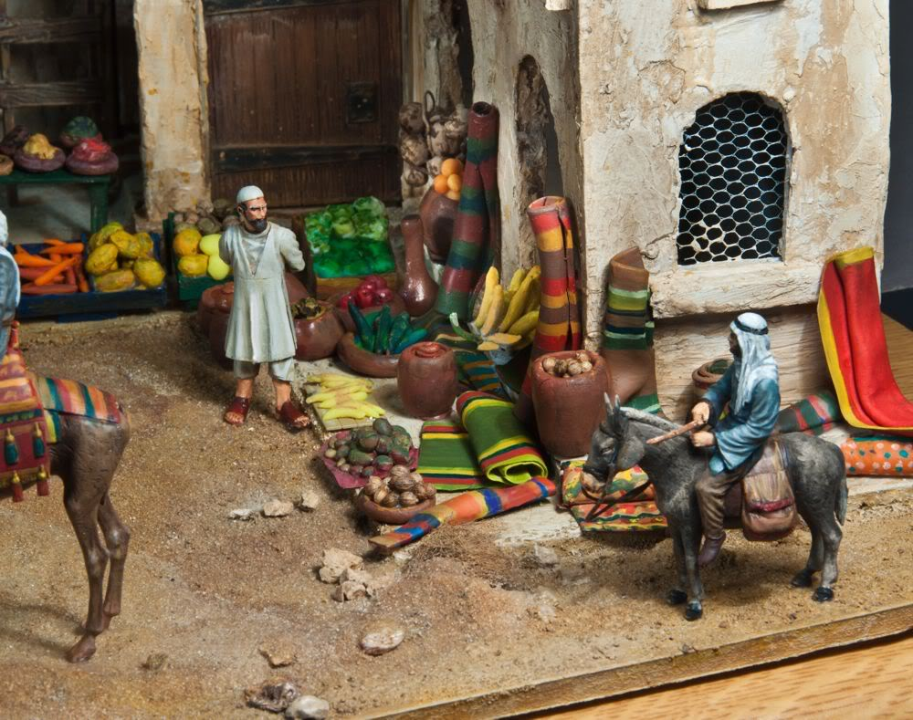 desert rats  et autres dioramas ! Manabi