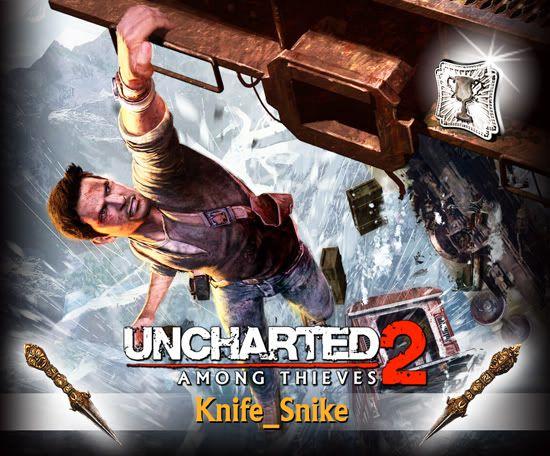 UNCHARTED 2 - EXPLORADOR DE PLATINO Knife