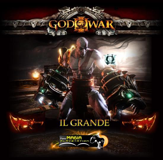 GOD OF WAR 3 - PLATINO EN EL CAOS POSTERILGRANDE