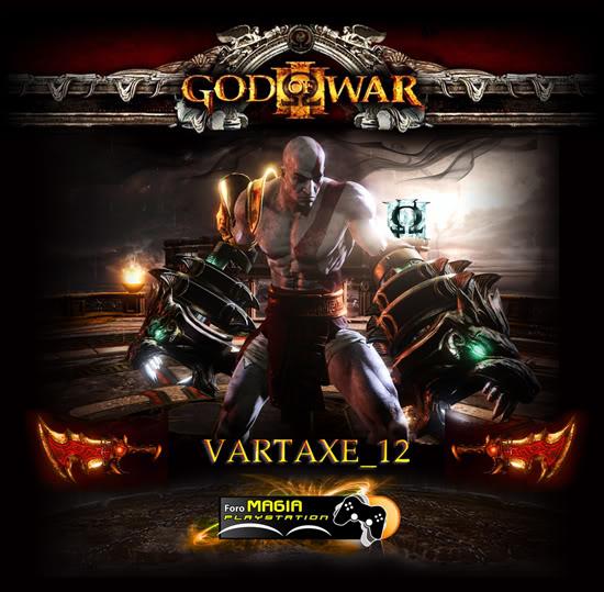 GOD OF WAR 3 - PLATINO EN EL CAOS POSTERVARTAXE