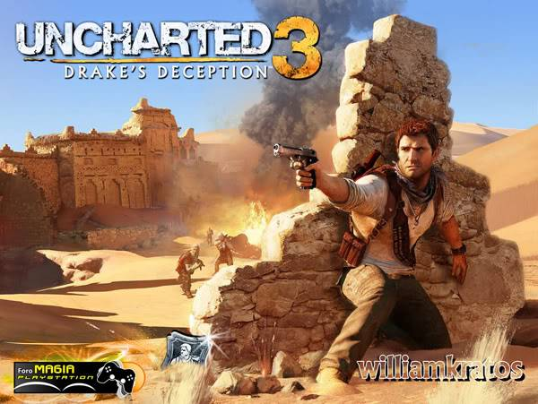 UNCHARTED 3 - LAS ARENAS DE PLATINO POSTERwilliam