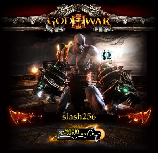 GOD OF WAR 3 - PLATINO EN EL CAOS SlashGOW3