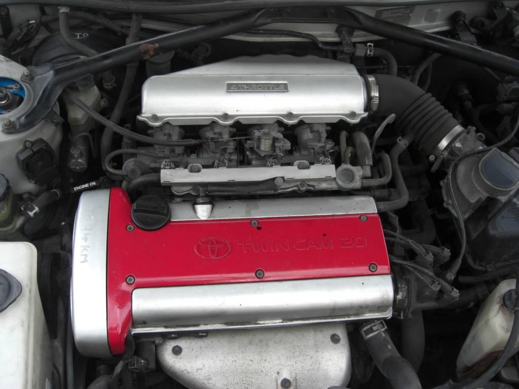 BREAKING:  1995 Toyota Levin GT Apex 4A-GE 20v Silvertop  CIMG0385-1