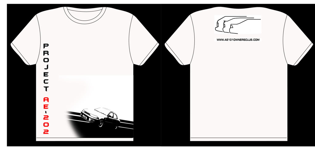 Club Shirt (pending). interested? Shirtdesigncar4
