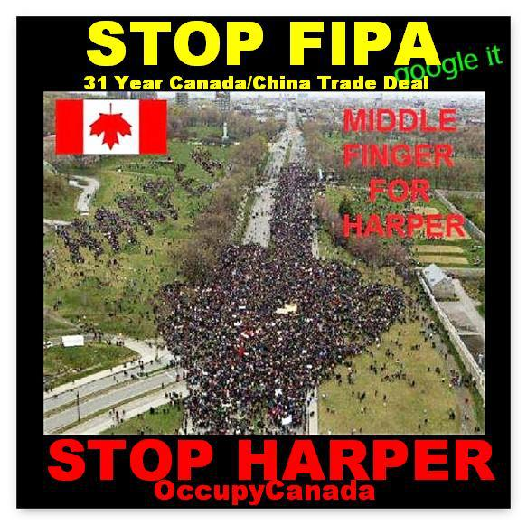 ACTION ALERT** - HARPER IS RAMMING THROUGH FIPA WITHOUT PUBLIC DEBATE 525710_504783036206951_2128403143_n