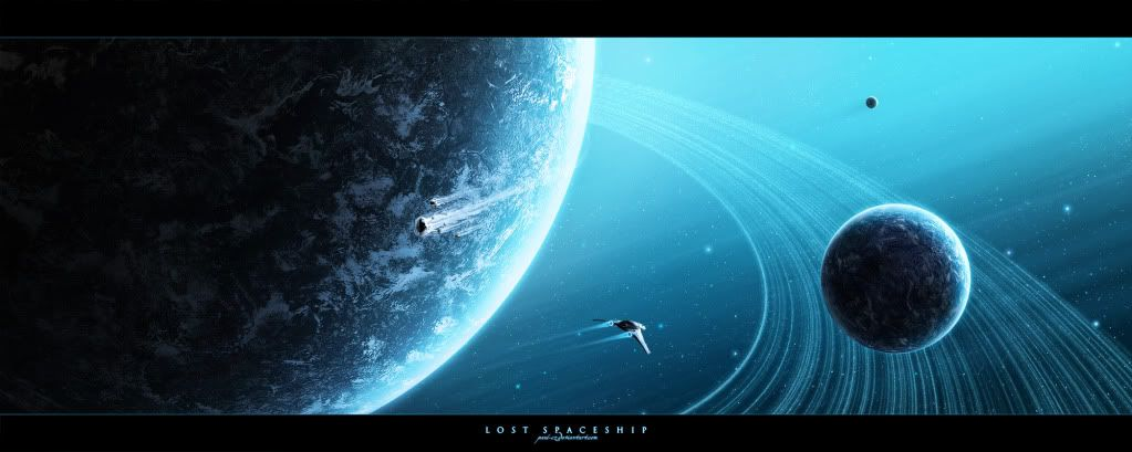 ABLE TO LOVE!!! - !SCHOOL - NEW OLD ALL!!! - RUN 2NE!!! - Page 20 Lost_spaceship_by_paul_cz
