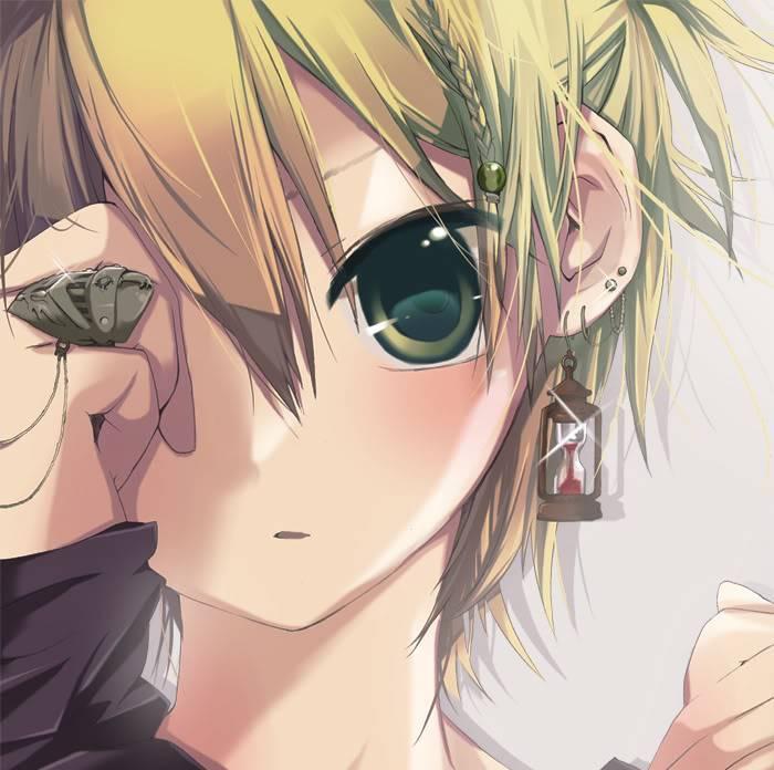 Chiasa Iseri Anime-boy-cute-kagamine-len-vocaloid-Favimcom-55957