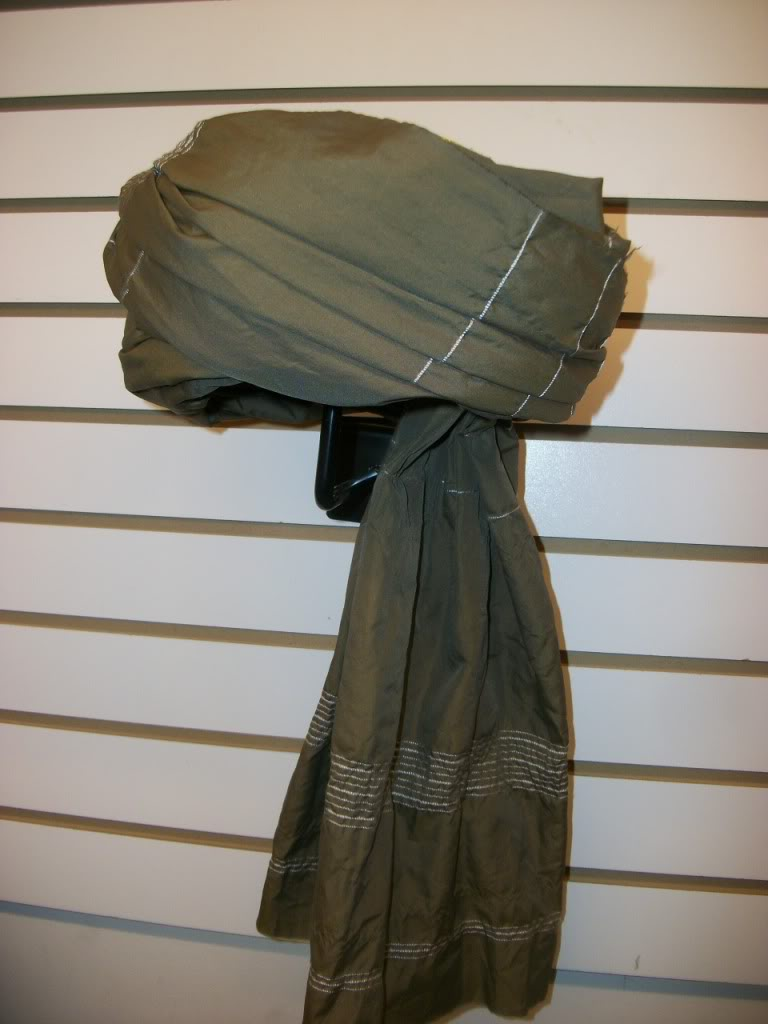 Special Forces Worn native head dress ~  OEF I ~  soldier  worn 100_8063