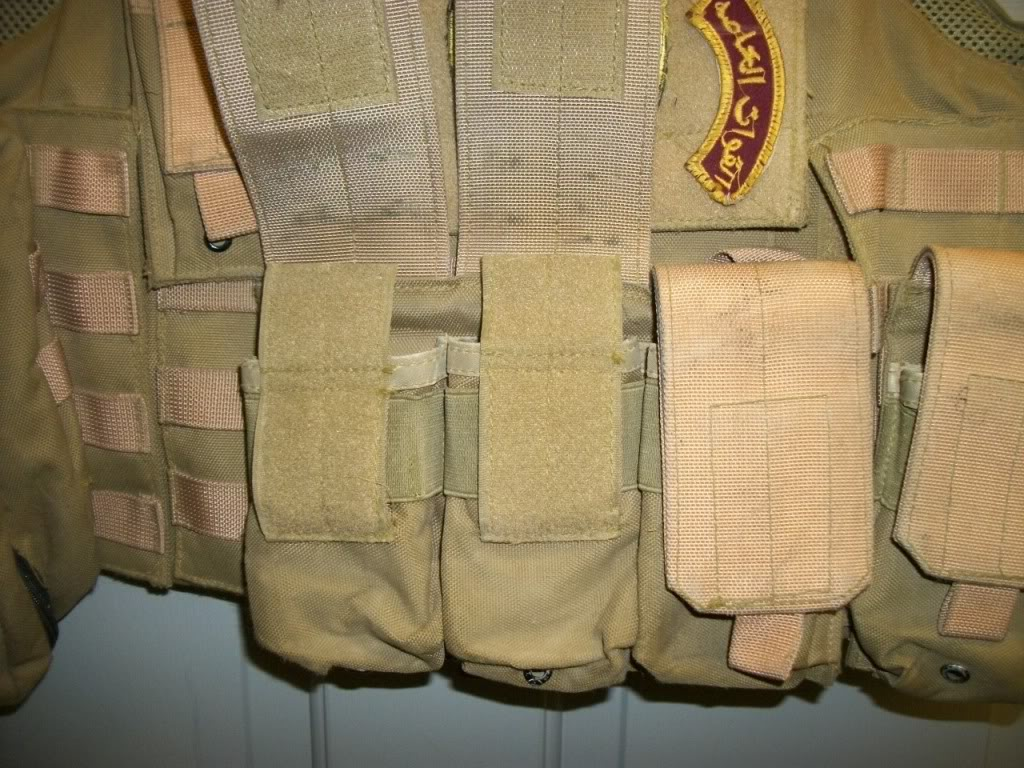 Iraqi worn Vest (1/45th Iraqi Army) US made carrier 101_0777