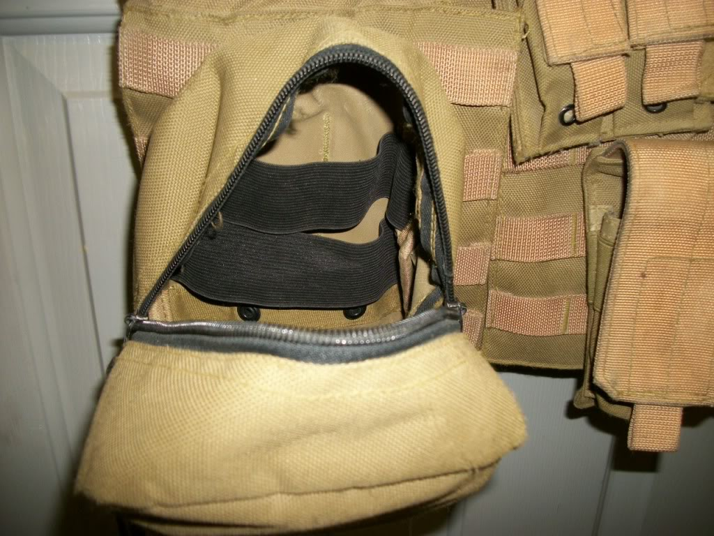 Iraqi worn Vest (1/45th Iraqi Army) US made carrier 101_0778