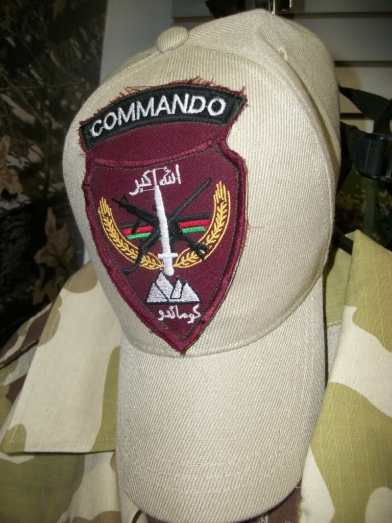 Afghan National Army Commando Patches 101_1020