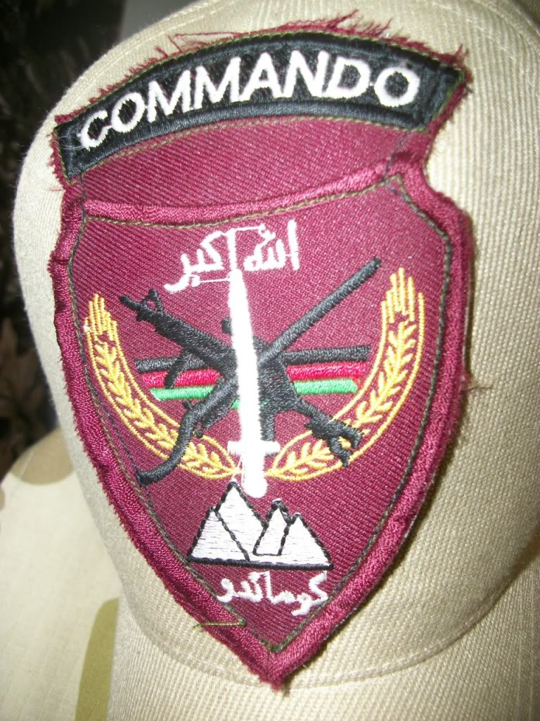 Afghan National Army Commando Patches 101_1021