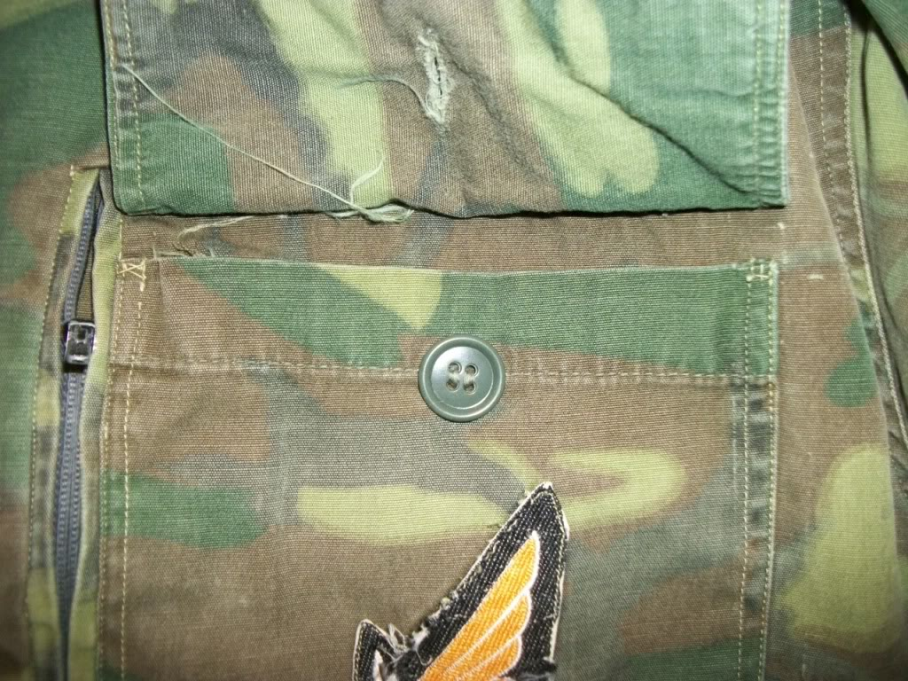 ARVN Airborne advisor shirt * Named 101_2885