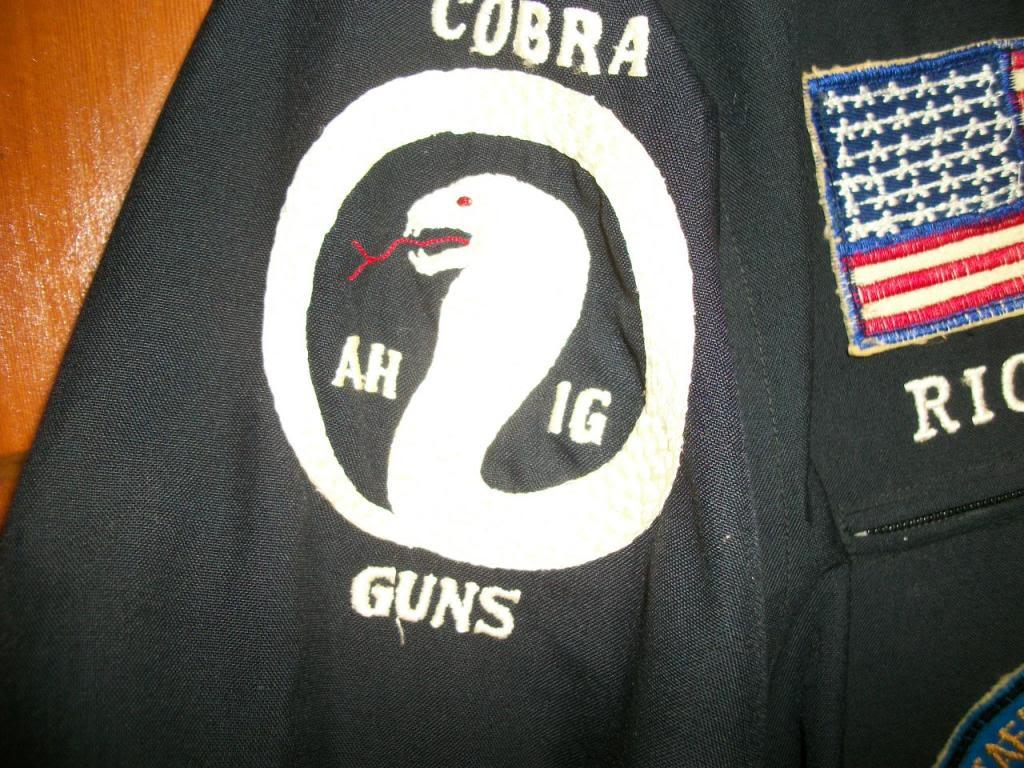 361st Aerial Weapons Company (Cobra) pilot's party suit 101_2898