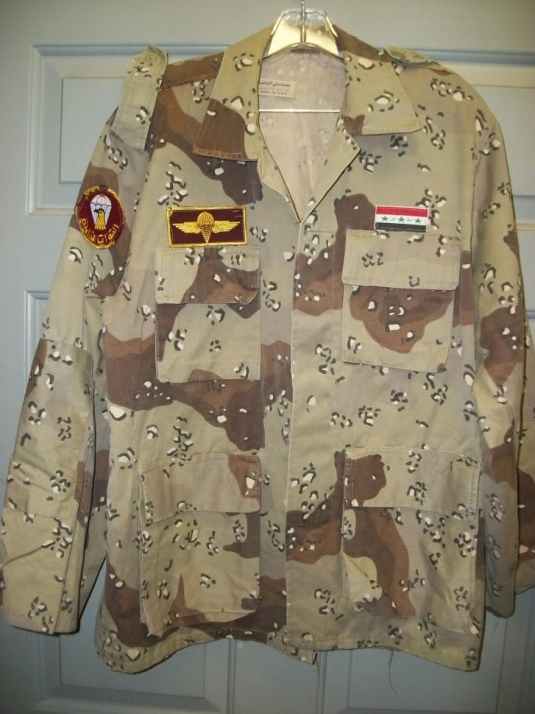 Iraqi Airborne Uniform ~ Chocholate Chip Uniform 101_4267