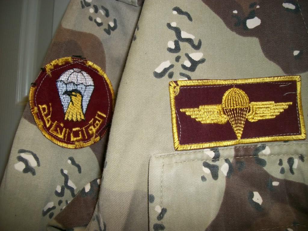 Iraqi Airborne Uniform ~ Chocholate Chip Uniform 101_4269