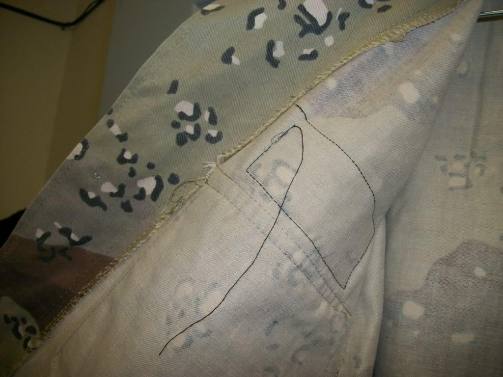 Iraqi Airborne Uniform ~ Chocholate Chip Uniform 101_4272