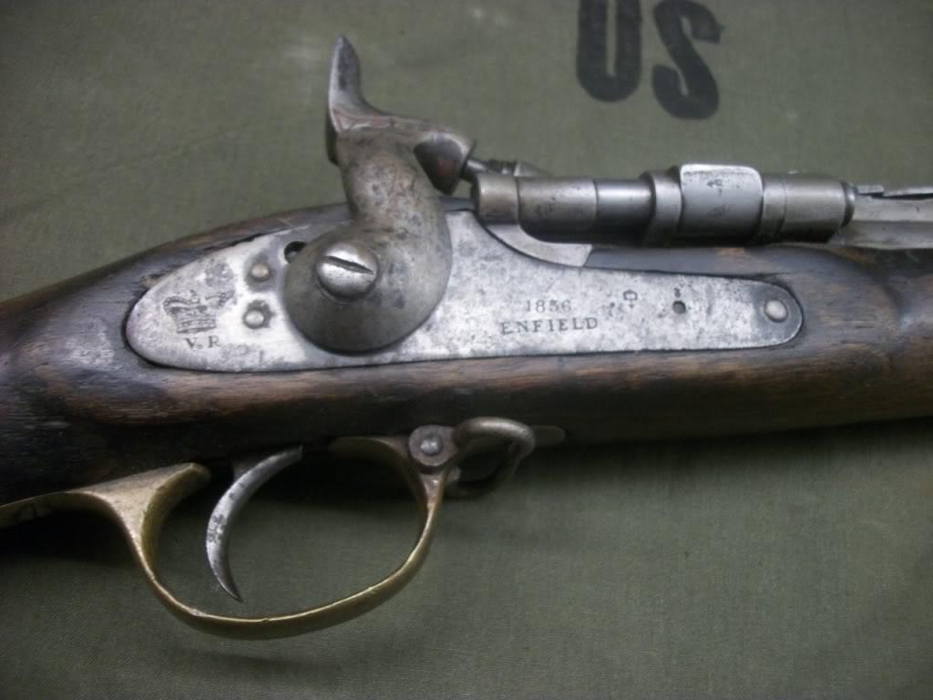 British 1856 Enfield via OEF bringback.... 101_8589