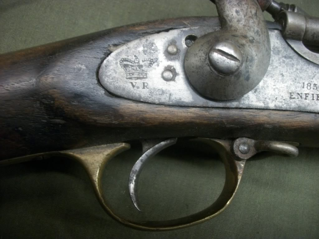 British 1856 Enfield via OEF bringback.... 101_8592