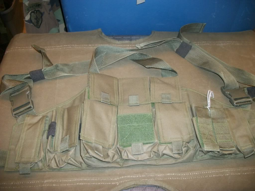 Afghan Made Chest Rig ~ Fits AK mags 101_8852