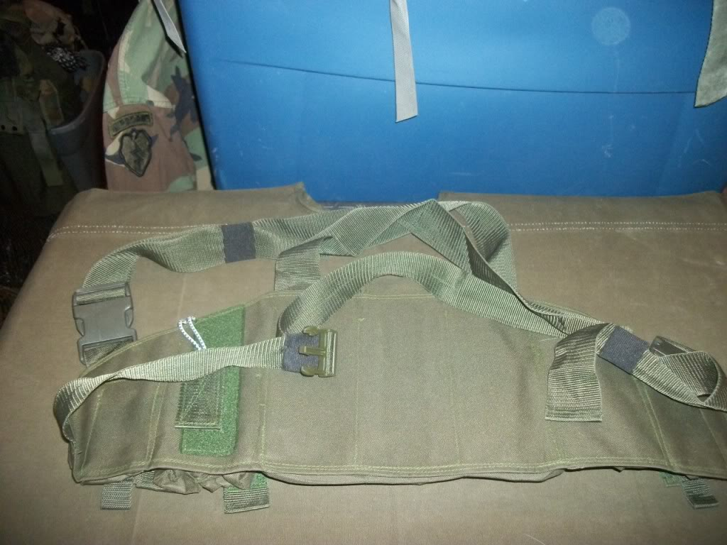 Afghan Made Chest Rig ~ Fits AK mags 101_8856