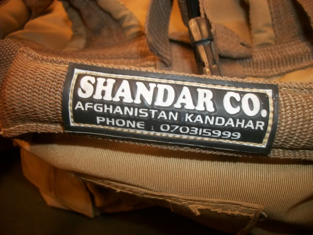Full Size Assault Pack * SHANDAR CO. * GARBAGE CAN RESCUED * 101_9068