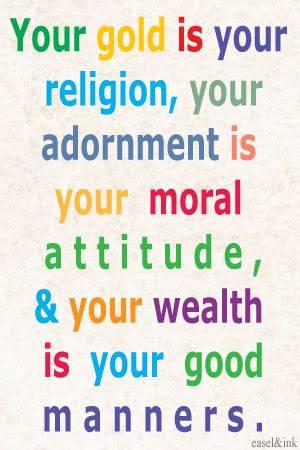 *Sisterly Advice* Goldisreligion
