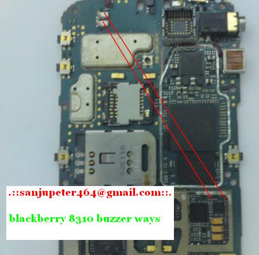 Blackberry some hardware solution here 8310blackberybuzzer