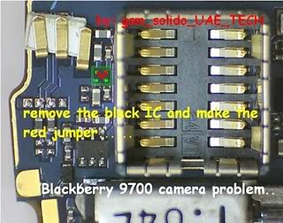 Blackberry some hardware solution here Bb9700stormcameraproblem