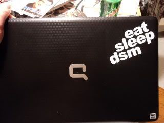 How to order your Eat Sleep DSM Decals Esddecal2