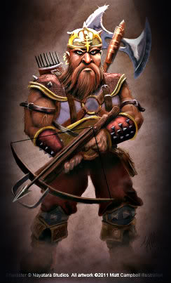 Dwarven Warriors DwarvenCrossbowman
