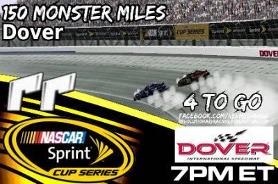 150 Monster Miles RRDover