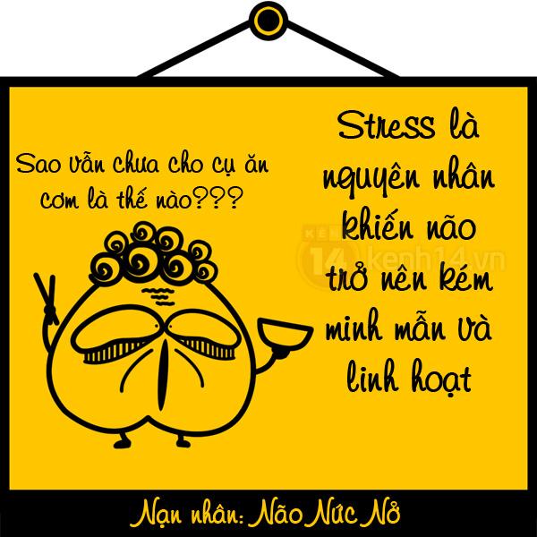 Cười nghiêng ngả với hiểm họa khôn lường khi bị stress tấn công 111222gtstress01