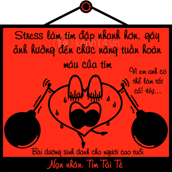 Cười nghiêng ngả với hiểm họa khôn lường khi bị stress tấn công 925111222gtstress02