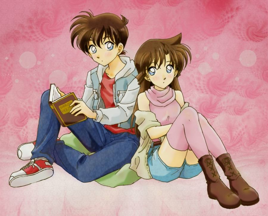 DC Wallpapers Collection Shinchi-x-Ran-shinichi-and-ran-18246281-900-725