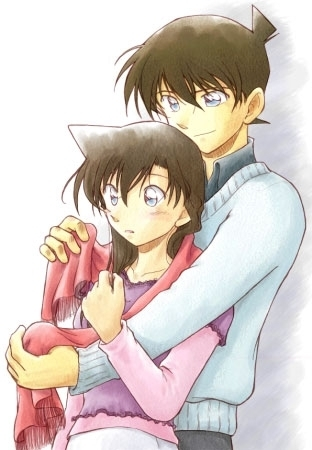 DC Wallpapers Collection Shinichi-x-Ran-shinichi-and-ran-18246340-312-450