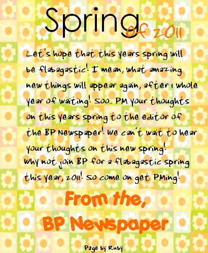 Bearville Place Newspaper // Issue 2 YAYAS