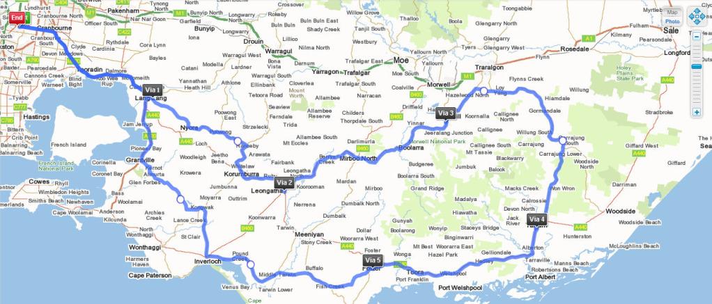 Gippsland Ride 3 Feb 12 Gipsride